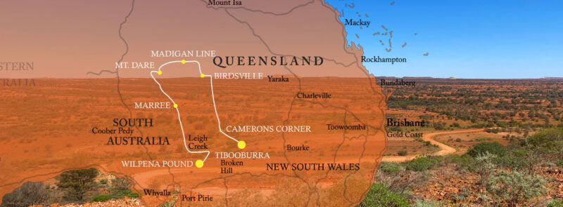 Madigan Line Tour Map