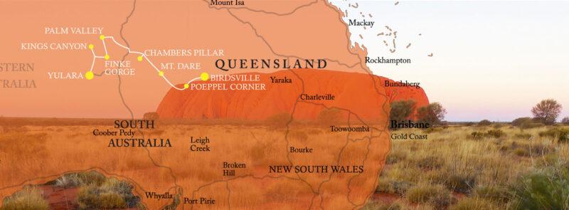 Simpson Desert Central Australia Tour